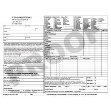 CC-1008 Carpet Invoice (Terms on Back)