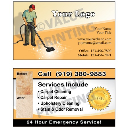 Carpet Cleaning Business Cards #10