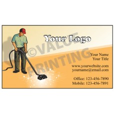 Carpet Cleaning Business Card Magnet  #10
