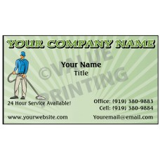 Carpet Cleaning Business Card Magnet  #2