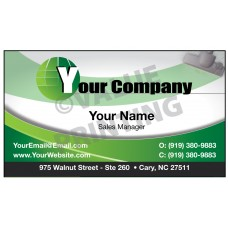 Carpet Cleaning Business Card Magnet  #5