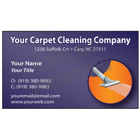 Carpet Cleaning Business Card Magnet  #6