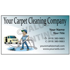 Carpet Cleaning Business Card Magnet  #7