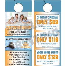 Carpet Cleaning Door Hanger #5
