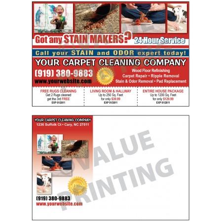 Carpet Cleaning Postcard #1