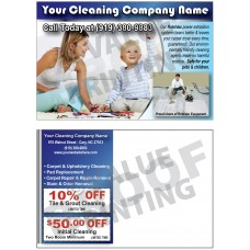 Carpet Cleaning Postcard #10