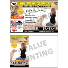 Carpet Cleaning Postcard #3
