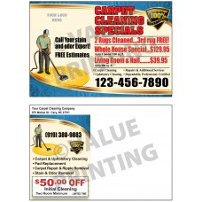 Carpet Cleaning Postcard #7